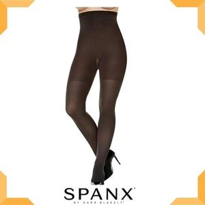 SPANX High-Waisted Tummy Control Tights - Brown
